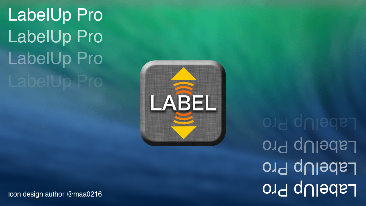 Icon design [LabelUp Pro]