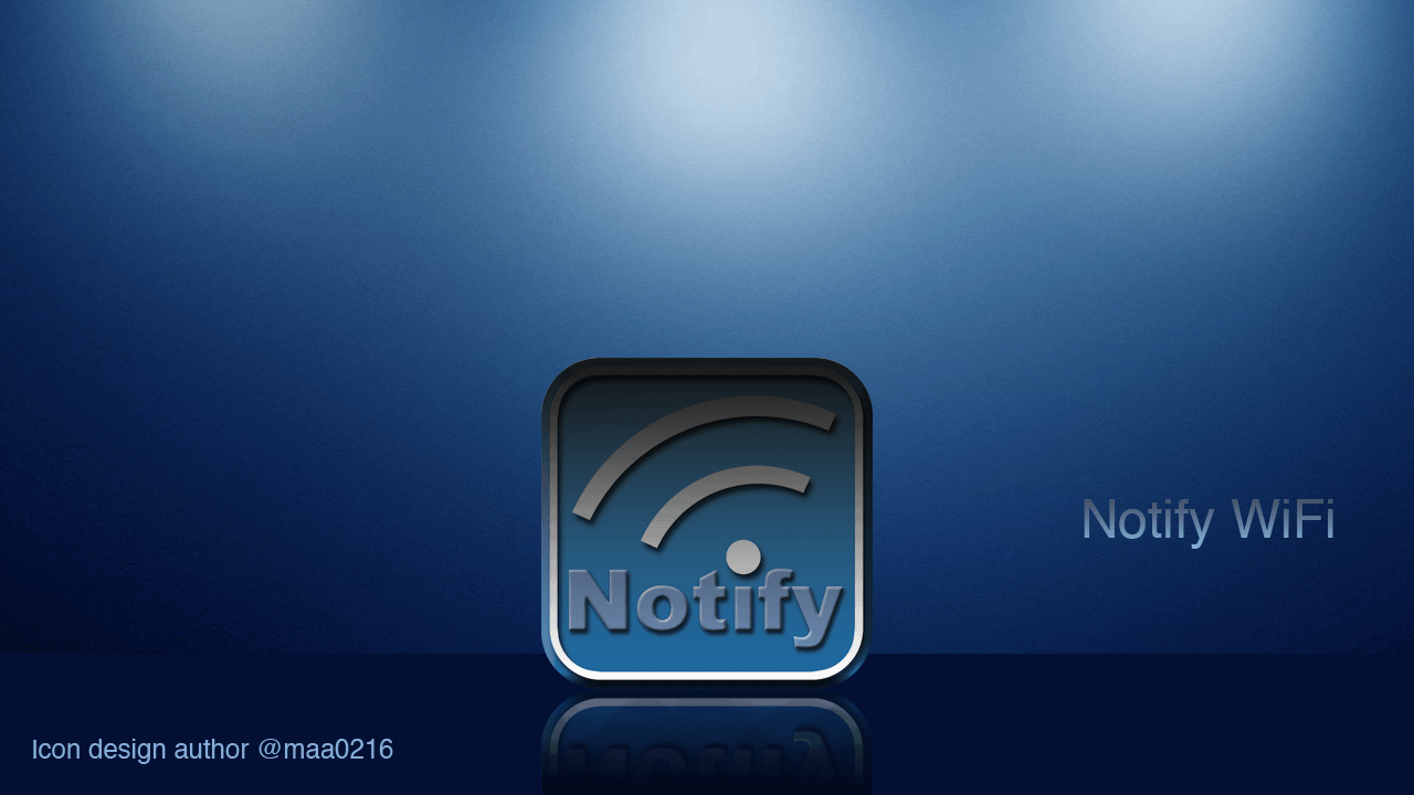 Icon design [NotifyWiFi]