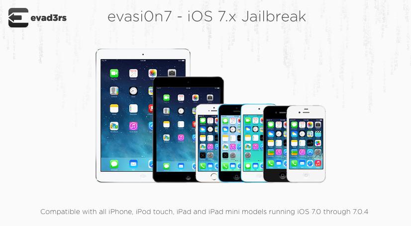 [Jailbreak] iOS7 Jailbreak ついに来た!クリスマスプレゼント!iOS7の脱獄『evasi0n7』