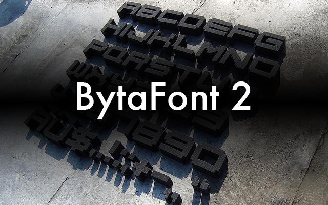 [JB] BytaFont 2 日本語フォント変更方法