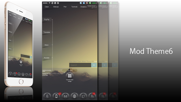 [JB][Themes] Mod Theme iPhone6 Compatible version!!