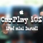 [JB][iPad] CarPlay iOS 車にiPad miniを埋め込みました。